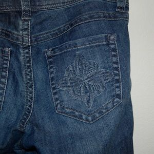 CAbi Stitched Pocket Jeans